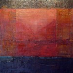 Boundaries Series, mixed media on canvas. SOLD