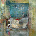 Fragments Series, mixed media on canvas. SOLD