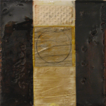 Layers Series, mixed media on canvas. SOLD